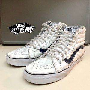Vans Sk8-Hi White Sneakers